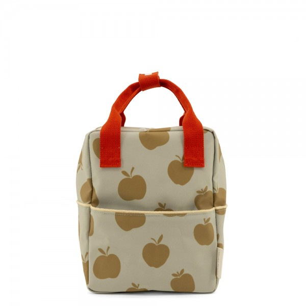 Rucksack small Special Edition Apples pool green · leaf green · apple red