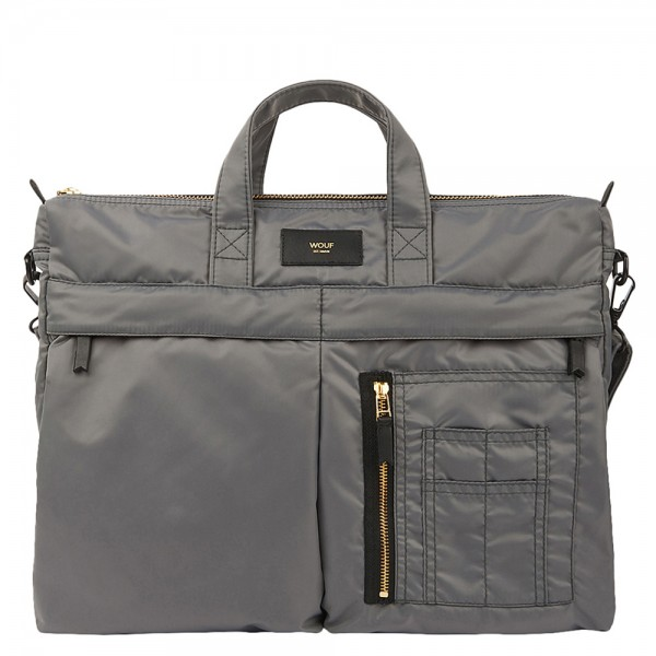 Bomber Bag Grey