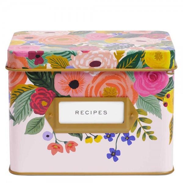 Rezepte-Box Juliet Rose