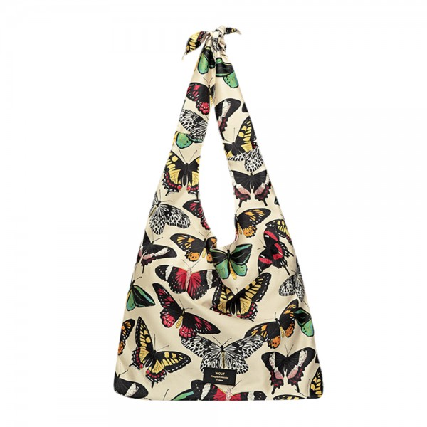 Satin Tote Papillons