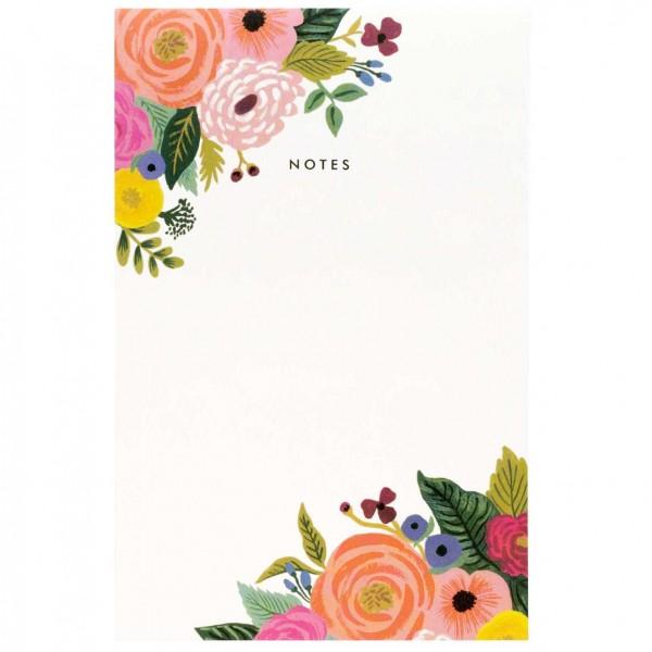 Notepad Juliet Rose