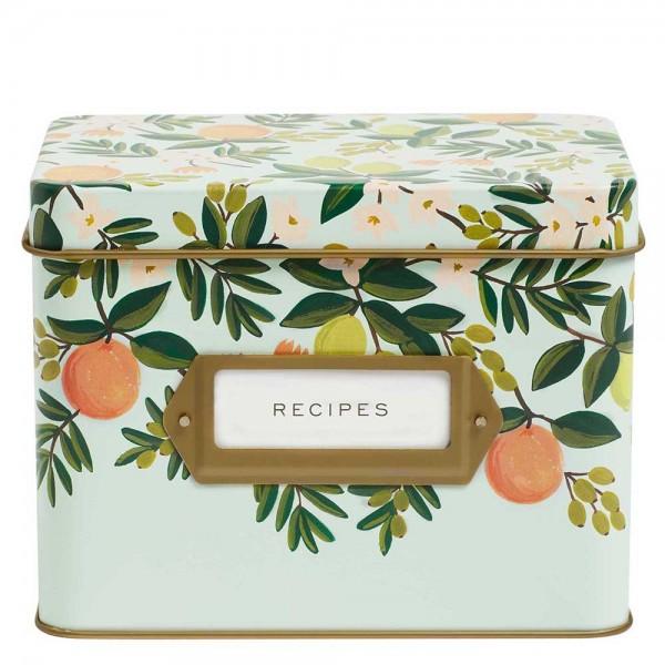 Rezepte-Box Citrus Floral