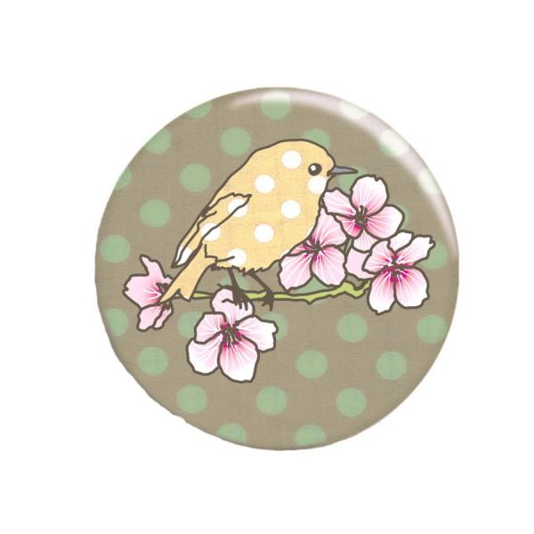 Taschenspiegel Vogel