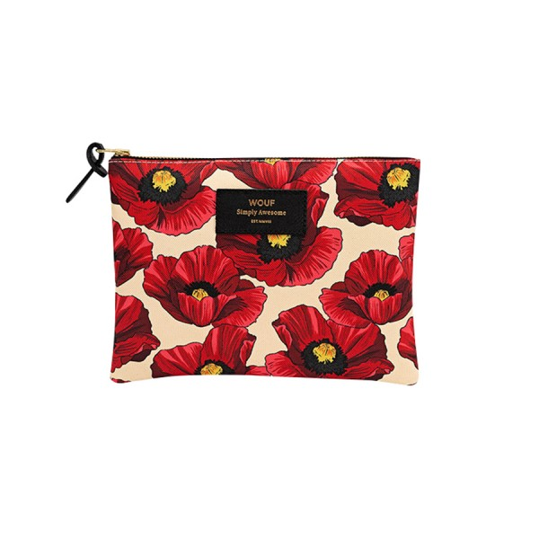 Large Pouch Poppy