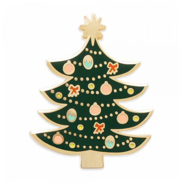 Pin Christmas Tree Emaille