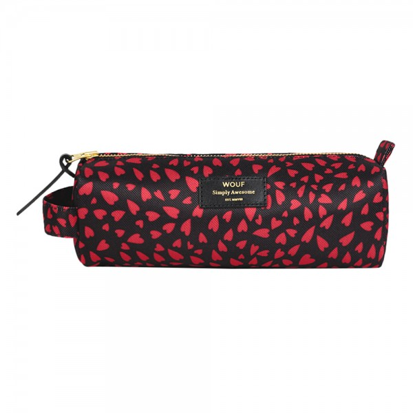 Pencil Case large Hearts