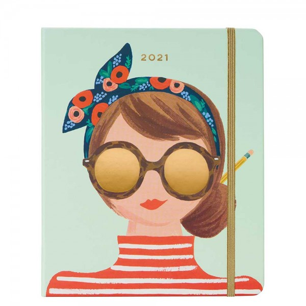 2021 Planner Covered Type A August 2020 - Dezember 2021