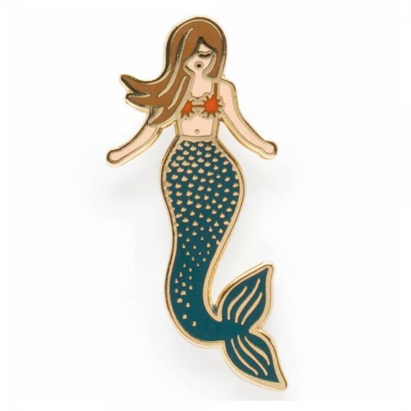 Pin Mermaid Emaille