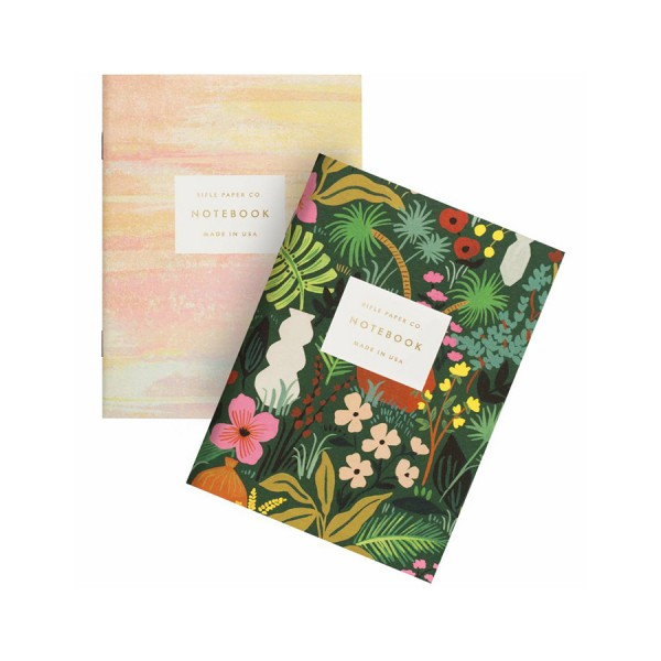 Pocket Notebook 2er-Set Terracotta - blanko