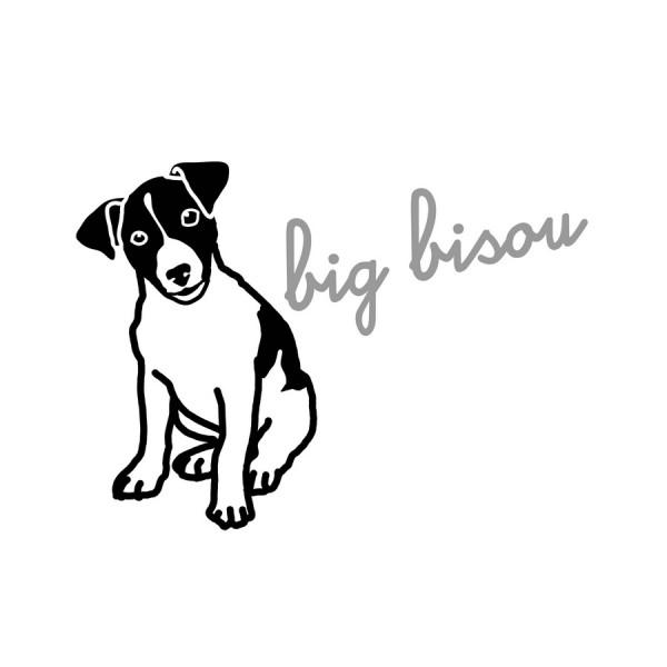 Sticker zum Aufbügeln - Motiv Hund