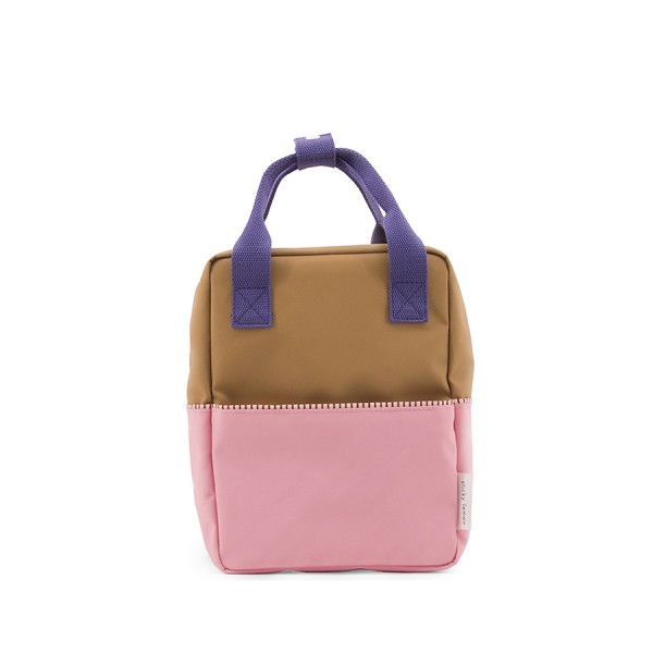 Rucksack small Colour Blocking Panache gold