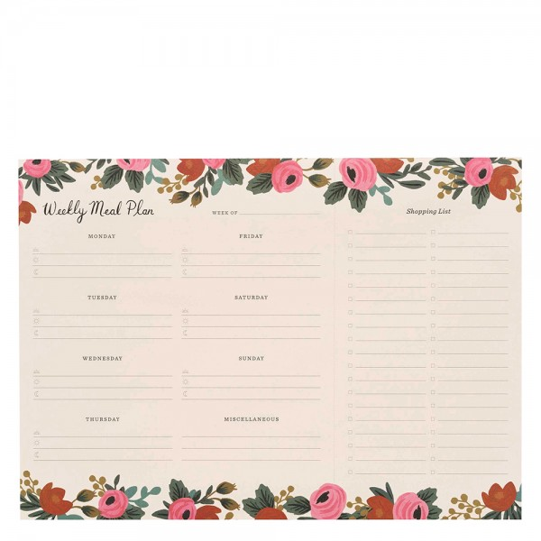 Meal Planner Rosa