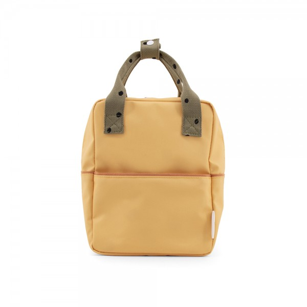 Rucksack small Freckles retro yellow