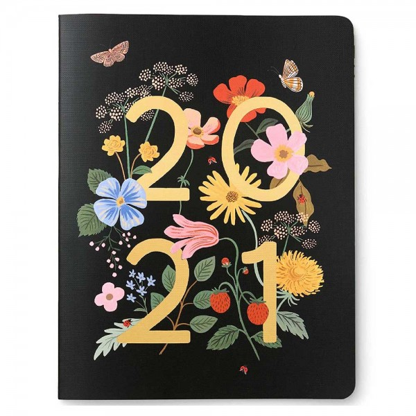 2021 Notebook Appointment Strawberry Fields