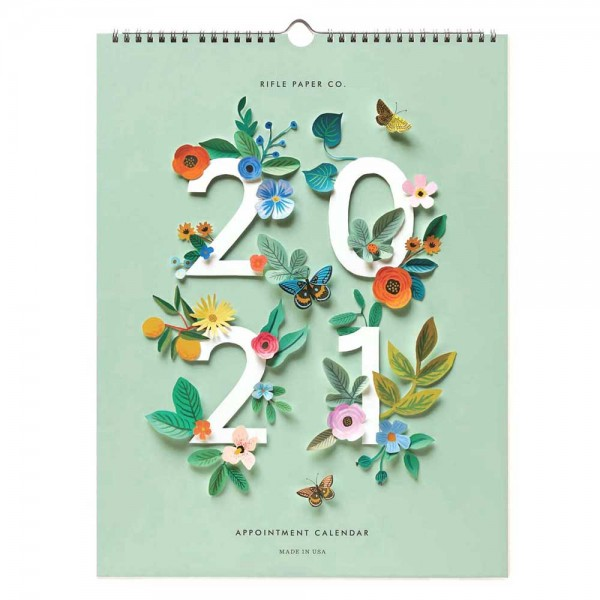 2021 Wandkalender Appointment Cut Paper