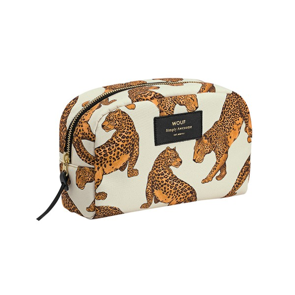 Kosmetiktasche Big Beauty Leopard