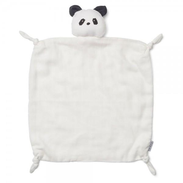 Schmusetuch Agnete Panda creme de la creme