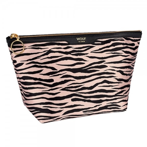 Kosmetiktasche Beauty Satin Soft Tiger
