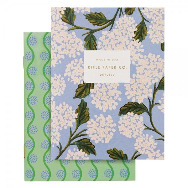 Pocket Notebook 2er-Set Hydrangea
