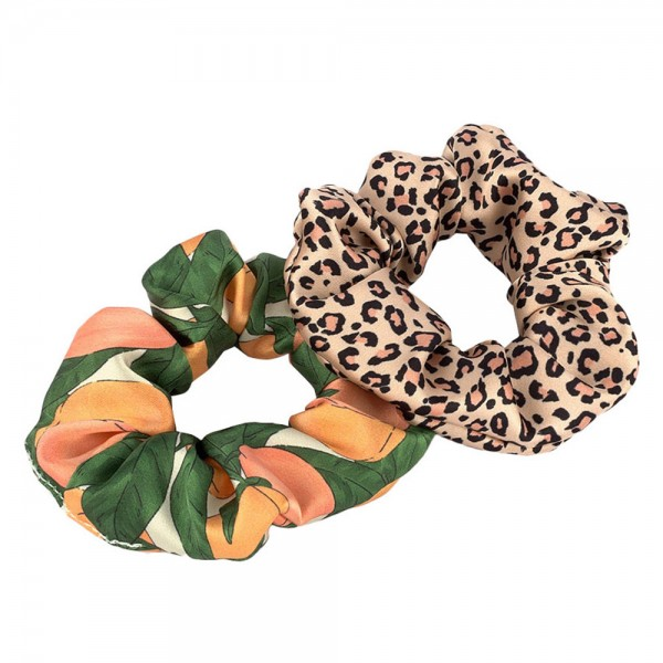 Scrunchies 2er-Set Pink Savannah & Peach
