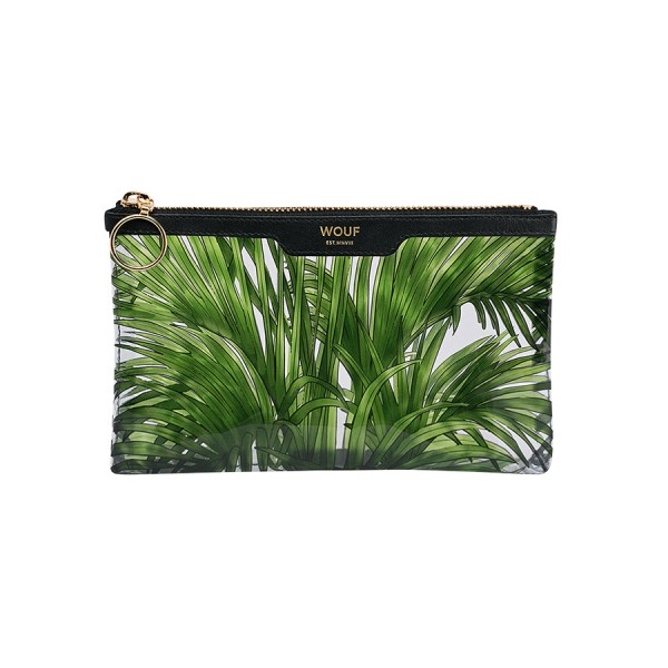 Pocket Clutch Bag Vinyl Tropicana