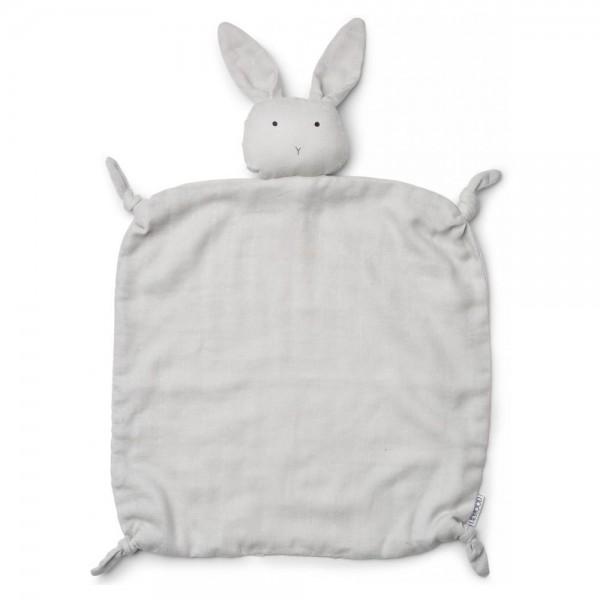 Schmusetuch Agnete Rabbit dumbo grey