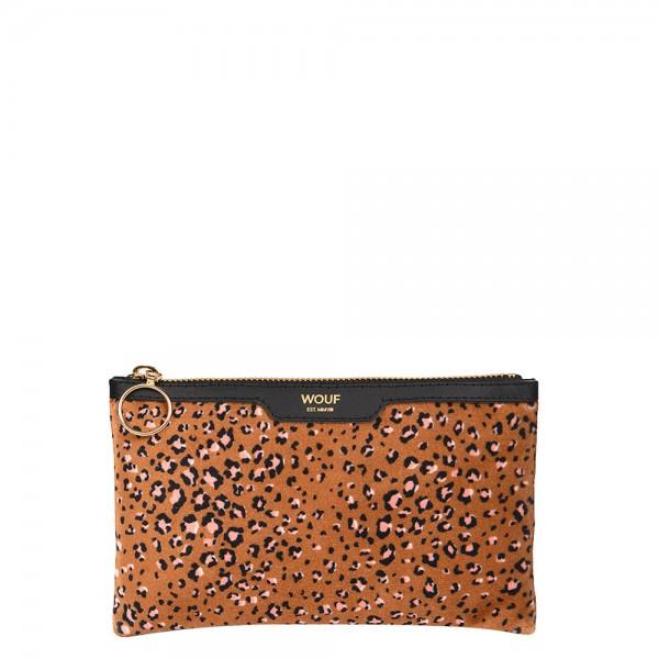 Pocket Clutch Bag Velvet Bruna