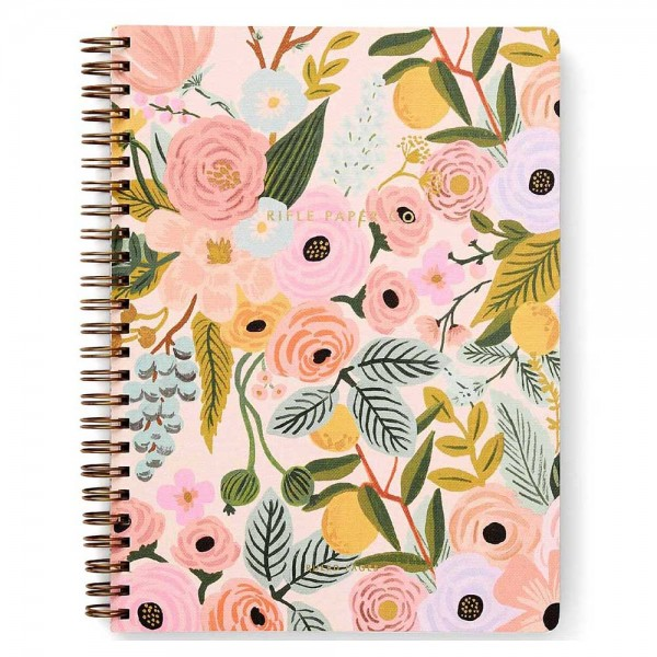 Spiral Notebook Garden Party