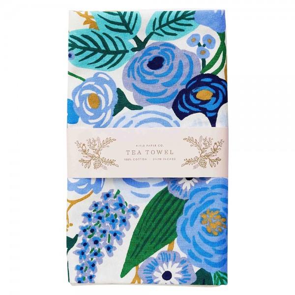 Tea Towel Garden Party Blue