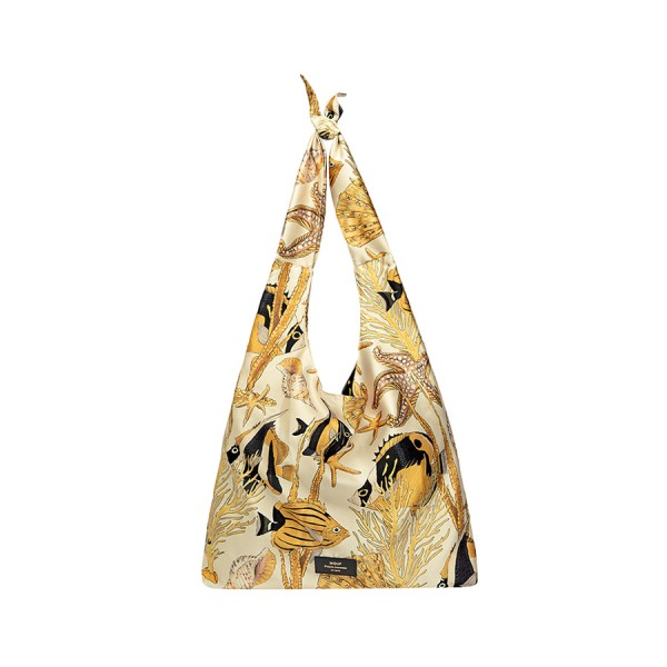 Tote Bag Satin Fish