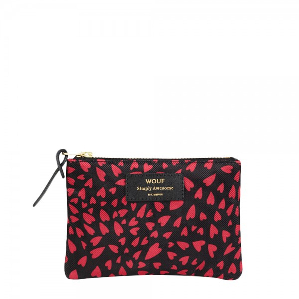 Small Pouch Bag Hearts