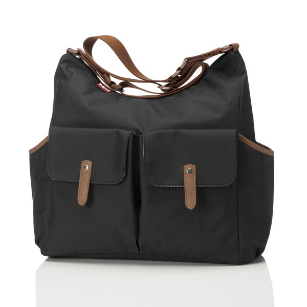 Wickeltasche Frankie in Black / LAST PIECE