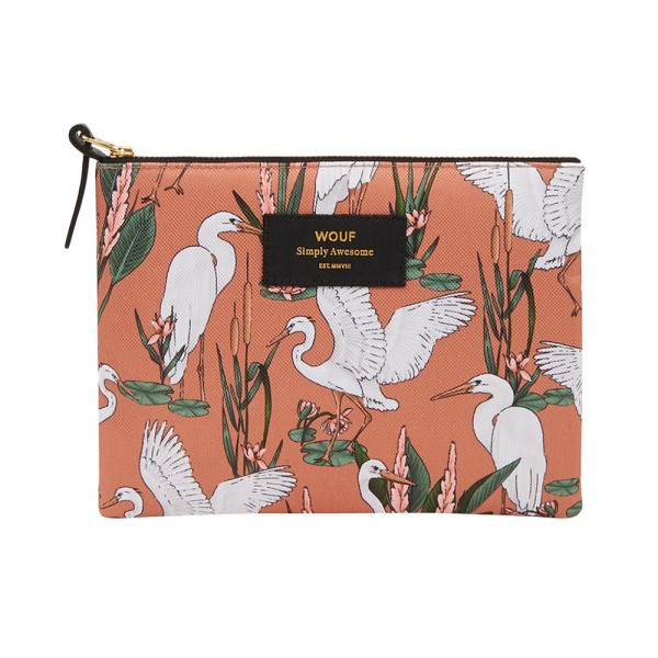 Large Pouch Bag Sunset Lagoon
