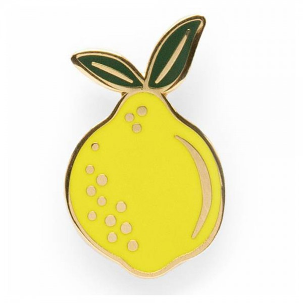 Pin Lemon Emaille