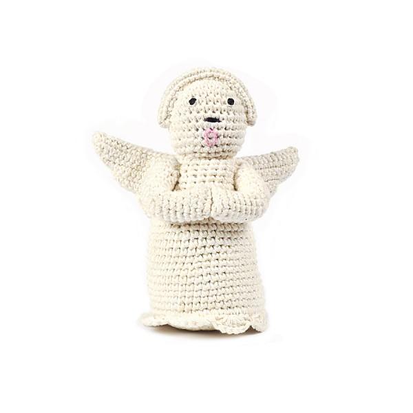 Engel klein in Natur aus Bio-Baumwolle