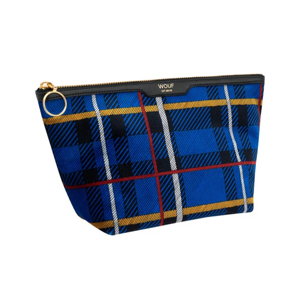 Beauty Velvet Blue Tartan