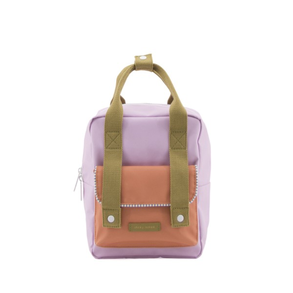 Rucksack small Deluxe Gustave lilac
