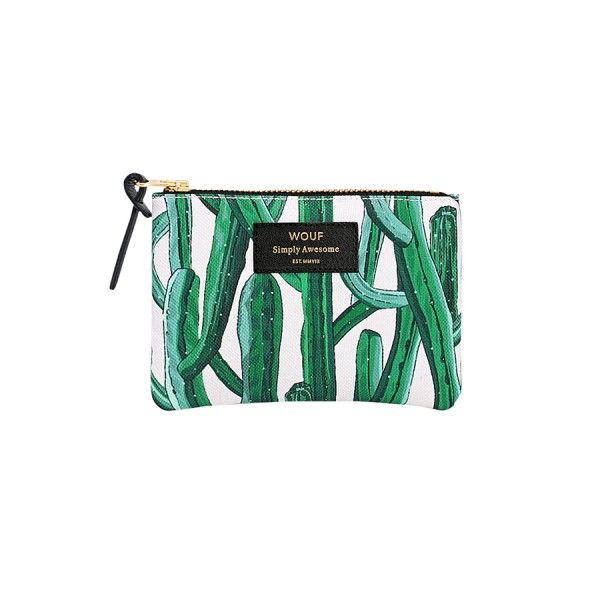 Small Pouch Bag Wild Cactus