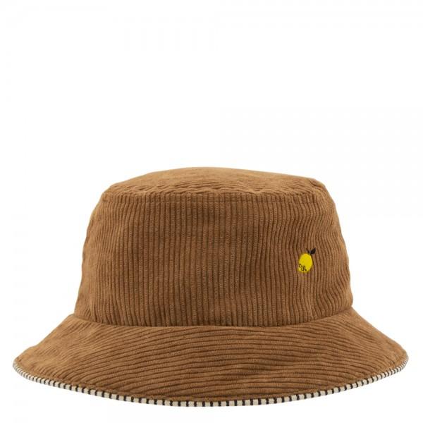 Bucket Hat - Kids Sprinkles Cordsamt brown