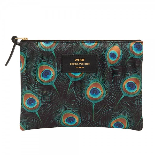 Large Pouch Peacock