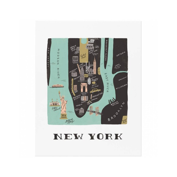 Art Print New York 28x35cm