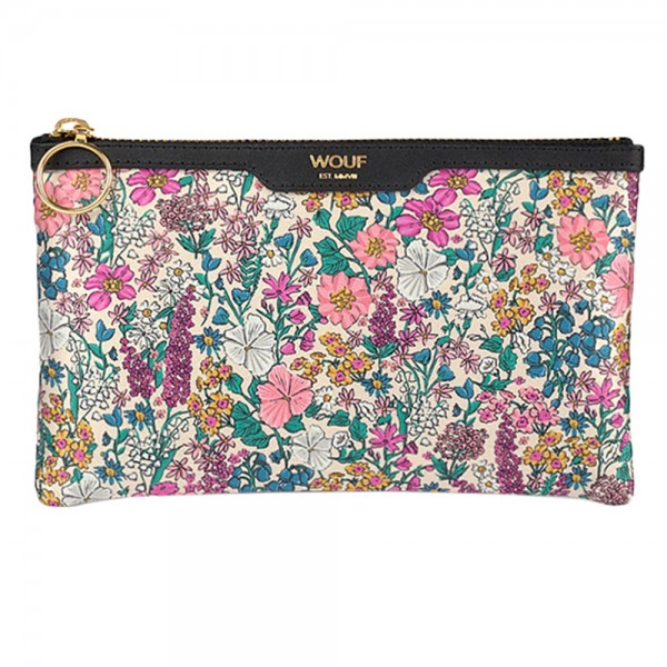 Pocket Clutch Bag Satin Emmy