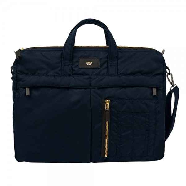 Wouf Bomber Bag Navy
