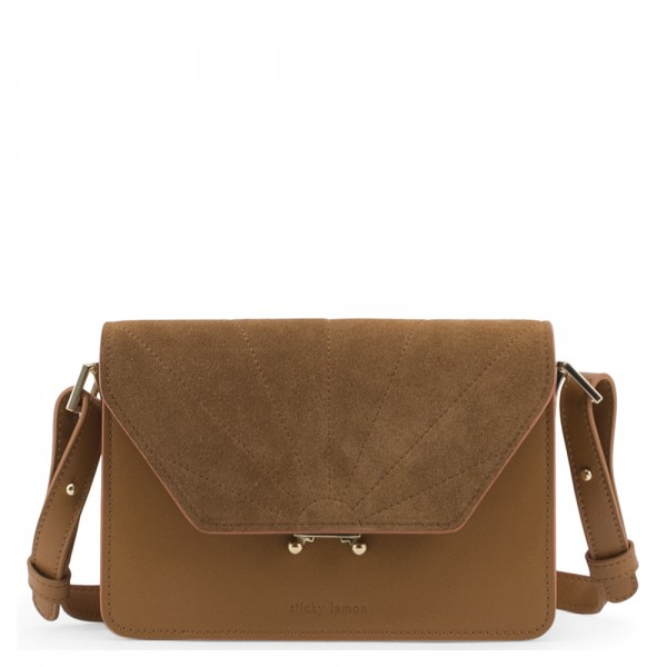 Schultertasche ton sur ton cider brown The Sticky Sis Club