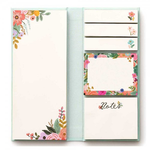 Sticky Notes Folio Garden Party