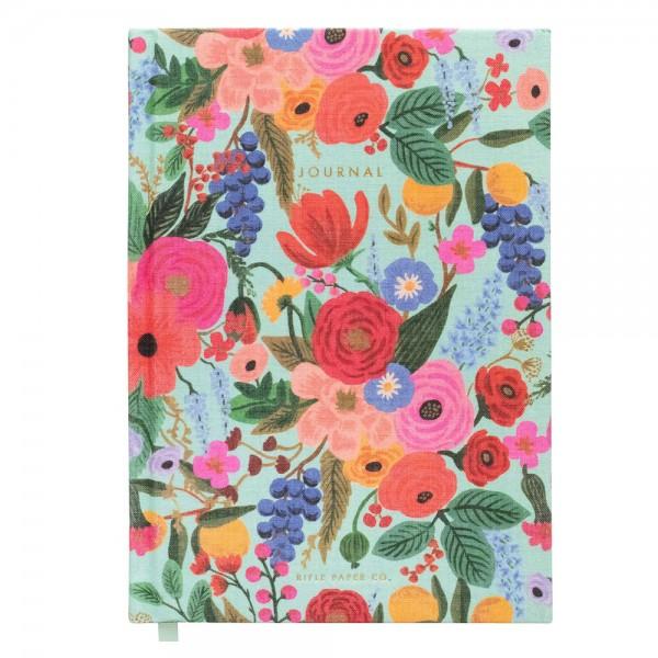 Fabric Journal Garden Party liniert