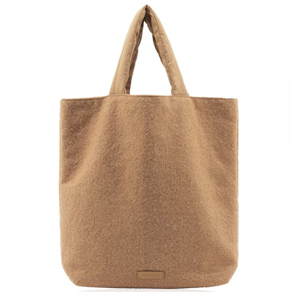 Baya Shopper Teddy wool cashew