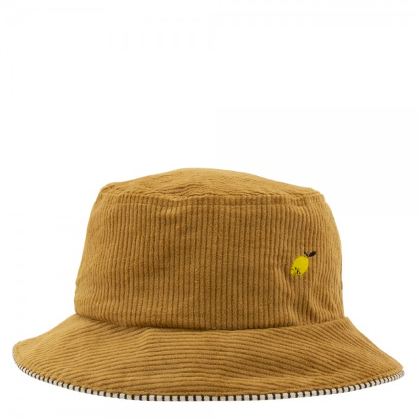Bucket Hat - Kids Sprinkles Cordsamt ocher