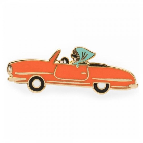 Pin Car Emaille