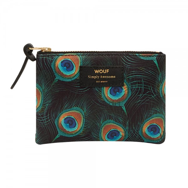 Small Pouch Peacock